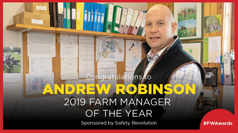Andrew Robinson Farmer of the Year 2019